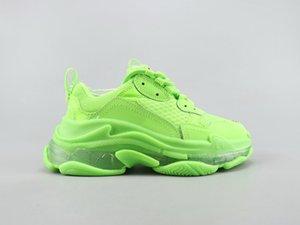 2020 cristallo di moda Scarpe casual inferiore Triple S pista 2.0 Vecchio Papà Sneaker Combinazione azoto Suola Mens Sneakers Tripler 3