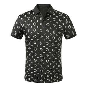 20New Designer Polos Hommes Polo luxe Hommes Casual Polo T-shirt de serpent Lettre d'abeille Imprimer Broderie Mode Rue Hommes Polos M-3XL629