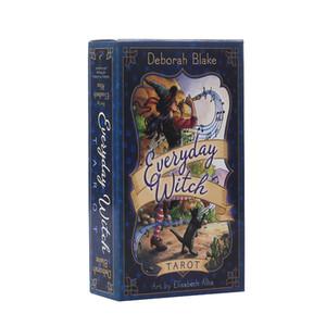 Tous les jours Sorcière Tarot Conseil Jeu de cartes Édition anglaise Mystérieuse Tarot Jeu Board Family Party Game Cards