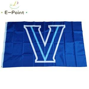 NCAA Villanova Wildcats Bayrak 3 ft * 5 ft (150cm * 90cm) Bayrak Banner dekorasyon uçan ev bahçe açık hediyeler
