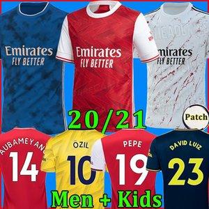 TOP Arsen Fußball-Trikot 20 21 PEPE NICOLAS CEBALLOS HENRY GUENDOUZI SOKRATIS MAITLAND-NILES TIERNEY 2020 2021 Fußballhemd Männer + Kids kit