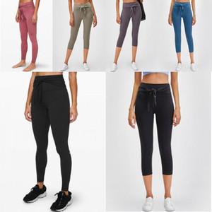Caliente [de calidad superior] más nuevo color sólido para mujer pantalones de yoga de cintura alta Deportes polainas desgaste elástico aptitud yogaworld medias globales workou Cade #