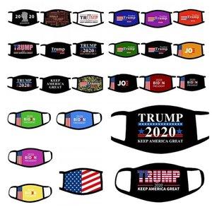 Trump Masques visage atout masque Supplies élection américaine 2020 Joe Biden Election américaine masques de masque bouche drapeau américain LL22