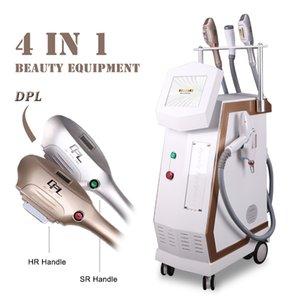 IPL DPL الجلد تجديد إزالة الشعر متعددة الوظائف DPL + RF + جهاز الليزر ipl shr غير مؤلم آلة إزالة الشعر لمعالجة الجلد