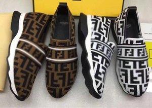 Der11 knitting casual shoes Sneaker Men Women Leather Suede Oversized Sole Shoes Lry Mens Platform Walking Dress Shoes Sneakers