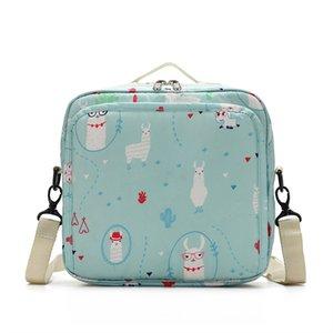 Diaper Bag 2020 Baby Diaper Storage Bag Portable Maternity Fashion Printed One Shoulder Cartoon Waterproof Wetbag 23*10*22cm