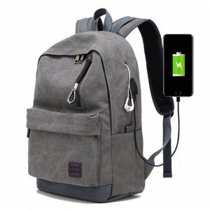 Мужской Бизнес Labtop Плечи сумки пакет Многофункциональный USB зарядка Рюкзак Рюкзак Мужского отдых и путешествия Рюкзак Сумки yLXM #
