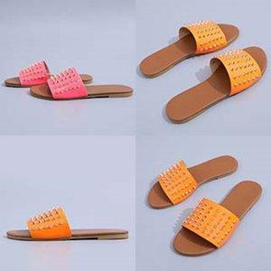 Casual Sandalet Soft On 2020Slippers Leater Slaytlar Şık KİT'ler Yaz Beac Sandalet Kayma # 850 Flop'lar Bayanlar ayakkabı Bayan Dener Slipper çevirin