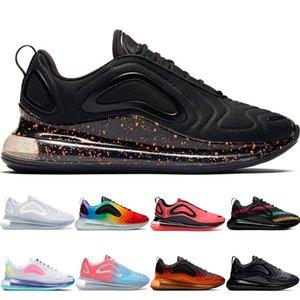 zapatos corrientes de los hombres zapatos de las mujeres baratas lava caliente del paquete de burbuja negrita de oro Pascua Paquete Rosa Rise blanqueado Coral Volt zapatillas de deporte scarpe Chaussures