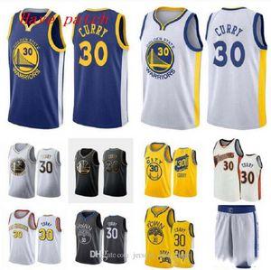Men and women basketball GoldenStateWarriors30 StephenCurry white yellow black wingman sleeveless Jersey and pant 07