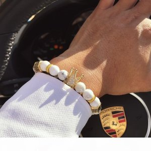 P Royal Natural Matte Agate Stone Beaded Handmade Healing Energy Wrist Bracelet For Men And Women Medium