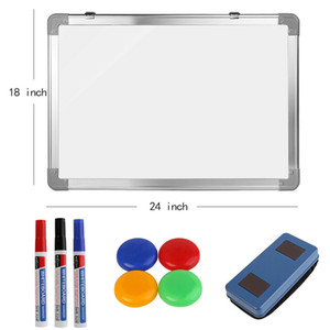 New Office School Home Magnetic Whiteboard Set Dry Erase Writing Board 18