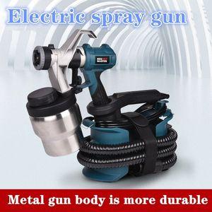 220V 800W alta pressão elétrica Spraying Gun para o automóvel pulverização metralhadora para autom / home niPw #
