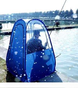 Pêche extérieure antipluie seule personne isolation privée soleil ombre regarder les sports pop-up tente pop-up garder au chaud tente PVC portable