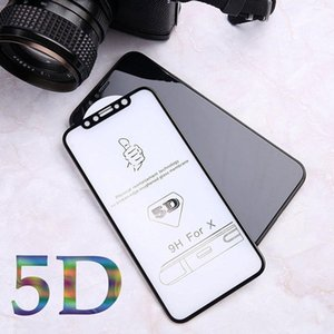 Hardness 5D Curved Edge Full Cover Tempered Glass for iPhone X 6 glass For iPhone 6s 7 8 Plus Screen Protector film (Better3D)