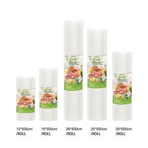 Vacuum Food Sealer Bags Roll Storage Bag For kitchen Packaging Sealing Machine Fresh Keeping 12 15 20 25 28 *500cm BPA