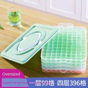 De una sola capa 99 lattd caja de refrigerador refrigerador molde congelado hogar celosía Ice Box artefacto hielo