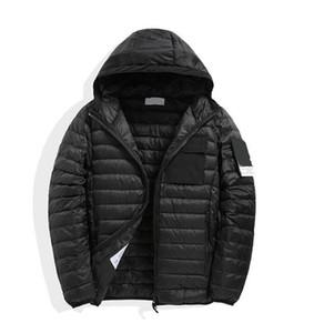 2020 tampa com capuz para baixo-cheia de pedra Casaco de inverno leve com capuz jaqueta moda jaqueta casual tampa com capuz para baixo-cheia coat PIRATA COMPANY