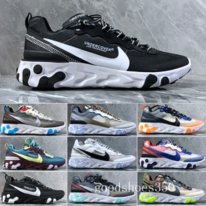 Hot Sale 2018 Piet Parra x 1 Running Shoes Men Women Parra 87 white multi-color Wotherspoon New Sports Sneakers Running Trainers HHE3K
