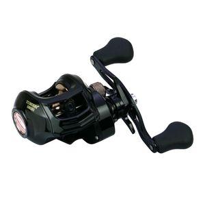2020New Low Profile Baitcasting bobine di pesca 18 + 1BB 8KG 8.1: 1 dolce / salata Magnetic Brake System Ultralight Mulinello