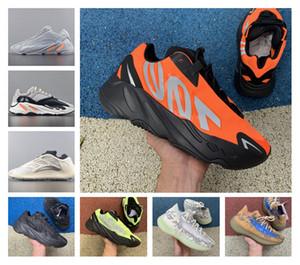 Erkek Kadın Ayakkabı Ucuz Vanta 700 V3 Alvah Azael Atalet Kanye West Orange Mıknatıs V2 Mist yabancı Runner Sneakers Running Son 700 MNVN