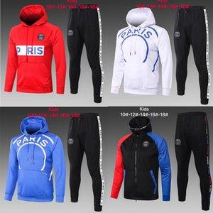 2020 tute invernali per hoodie del progettista di marca Coats TopsPants vestiti di modo autunno Cardigan bambini calcio Tuta Felpe Abbigliamento