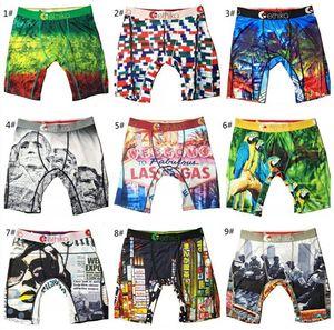 Femmes Hommes Sous-vêtement Marque rapide Shorts sec Slip de bain Boxer Pantalons Graffiti Imprimer courts Leggings Caleçon bas Hot A120301