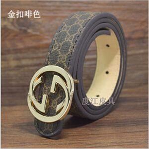 New HOT saling 2016 New brand hot sale designer kids PU leather belts children boys girls Letter buckle Leisure waist strap