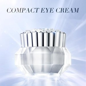 Fish roe protein compact eyes cream Lighten crows feet Relieve puffiness under the eyes Nourish Moisturize Smooth Remove dark circles