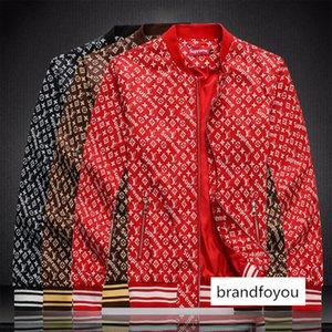#7585 Men Jackets Autumn Windbreaker Long Sleeve Coats Fashion Streetwear Motorcycle Male Casual Hoodie Bomber Jacket Outerwear