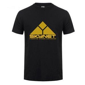 2020 бренд моды Пользовательские Tshirt Harajuku короткий рукав Cyberdyne Systems Terminator 100% хлопок футболки рубашки мужчин случайные топы мужчин