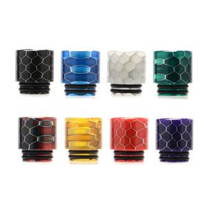 nós armazém Vpdam Cobra 810 Drip Tips 810 Padrão ecigs Acessórios dicas resina de gotejamento E-cigarro