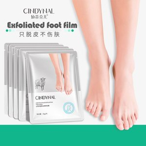CINDYNAL Multi-layer repair mask Nourish Remove calluses Foot mask Oil-control Lavender soft exfoliating foot film hydrated Remove Foot-odor