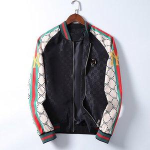Spring and summer 2020 new men's designer jacket men's casual windbreaker zipper thin section hooded jacket men