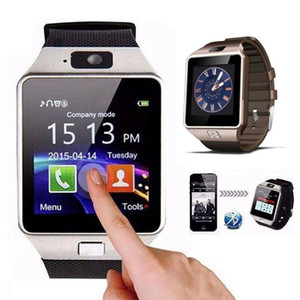 DZ09 Smart Watch Bluetooth Wearable Android GT08 U8 A1 Smartwatch Wristband SIM Intelligent Mobile Phone WatchCan Record Sleep State