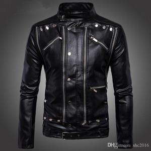 Luxury Fashion Mens Designer Leather Jackets Mans Designer Winter Coats Zipper Rider Biker Slim Jacket Explosive Casual Jacket Size M-5XL