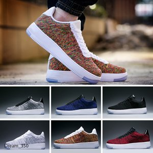 2020 hot sale New forcs Classical All White black high cut men & women Sports casual Shoes forcing one running Shoes size 36-45