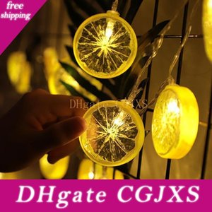 Limon Dilim Dize Lambası Kız Kalp Oda Düzeni Gece Işığı Meyve Modelleme Lambası Parti Dekorasyon Fener