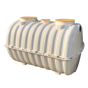 2M3 moldado Fiberglass Reinforced Plastic SMC fossa séptica Para Tratamento de Esgoto subterrâneo tanque séptico utilizado Anti-corrosão