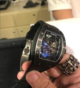 Swiss cosc INVICTA Very large rotating dial super quality Men's watch Tungsten steel Multifunction Gold quartz watch