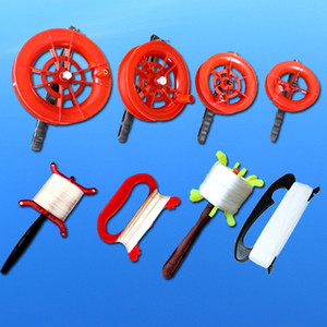 Weifang Inflation steel wire tool children's cartoon line wheel wire board kite line flying tool kite inflator red wheel