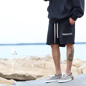 Trendy and Tested Fog Shorts Fear of God Essentials High Street Loose Mens Fifth Pants Casual Shorts
