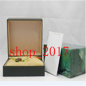 XX Best Quality Luxury Dark Green Watch Box Gift Case For Rolex Watches Booklet Card Tags And Papers In English Swiss Watches Boxes 888