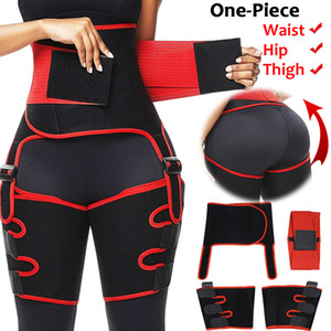 Frauen Neopren High Waist Trainer Body Shaper Sweat Formwäsche Adjustable dünner Gurt Trimmer Bein Shapers Waist und Oberschenkel Trainer CX200724
