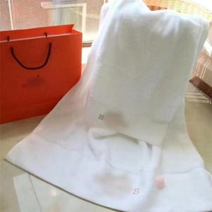 Classique Lettre broderie serviette Set Mode Quick Dry Hommes Femmes bain Serviette cadeau d'anniversaire pour un couple Serviettes voyage