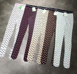 Top quality women Cheap Slim leggings Moon printed Stretch Jumpsuit pants long johns S M L