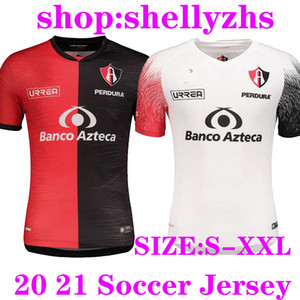 Liga MX 2020 2021 Atlas FC Futbol Formalar Eve 20 21 L.Reyes I.Jeraldino Acosta I. Renato J. Angulo Futbol Gömlek Tayland Maillots