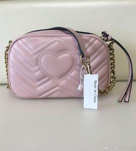 높은 품질의 새로운 여성 핸드백 골드 체인 어깨 가방 크로스 바디 소호 가방 디스코 메신저 가방 지갑 지갑 (11 개) 색상 # 6158