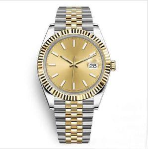 Reloj para hombre relojes de acero inoxidable de 41 mm Hombres 2813 Relojes mecánicos automáticos para hombre DateJust Watch Wristwatches