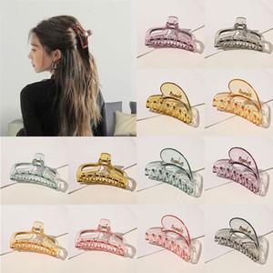 Hair Fashion Griffes Crabe cheveux Pince CÉRÉMONIES Grand outil coiffure Griffe plastique Accessoires cheveux pour les femmes